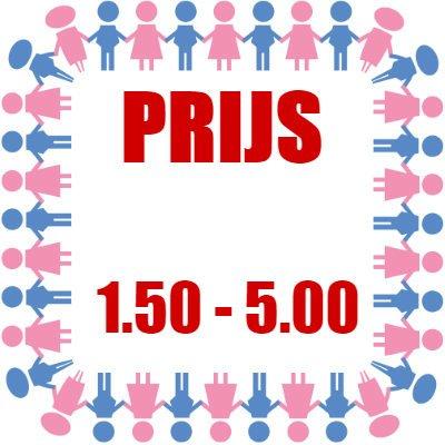 Prijs: € 1,50 - € 5,00