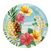 Hawaii Borden Paradise 23cm 6 stuks