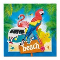 Beach feest Servetten 20 stuks