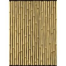 Bamboe muurdecoratie Poster 12,2 meter