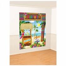 Tropische muurdecoratie Bar 5 delige set