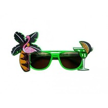 Tropische zonnebril