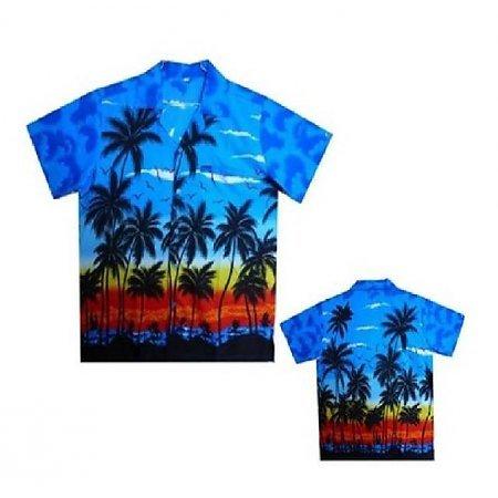 Hawaii shirt palmboom kopen teeninga palmen for Lsu hawaiian print shirts