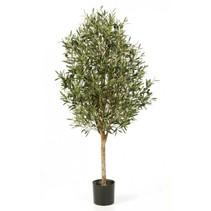 140 cm Kunstplant Olijfboom met een dikke stam