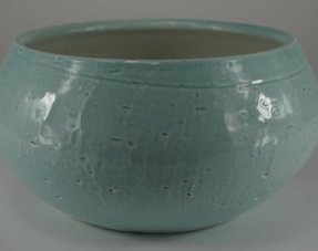 Glans aardewerk potten