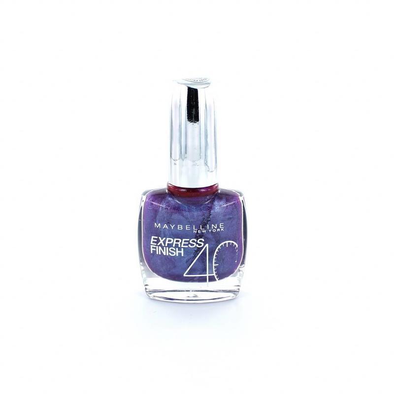 Maybelline Express Finish Nagellak - 250 Deep Violet