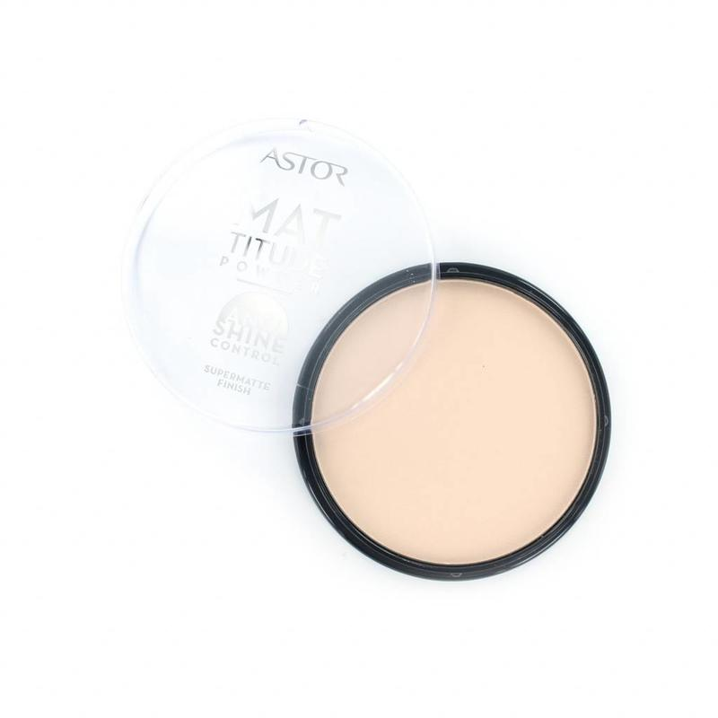 Astor Mattitude Supermatte Powder - 001 Ivory
