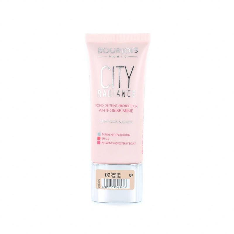 Bourjois City Radiance Skin Protecting Foundation - 02 Vanilla