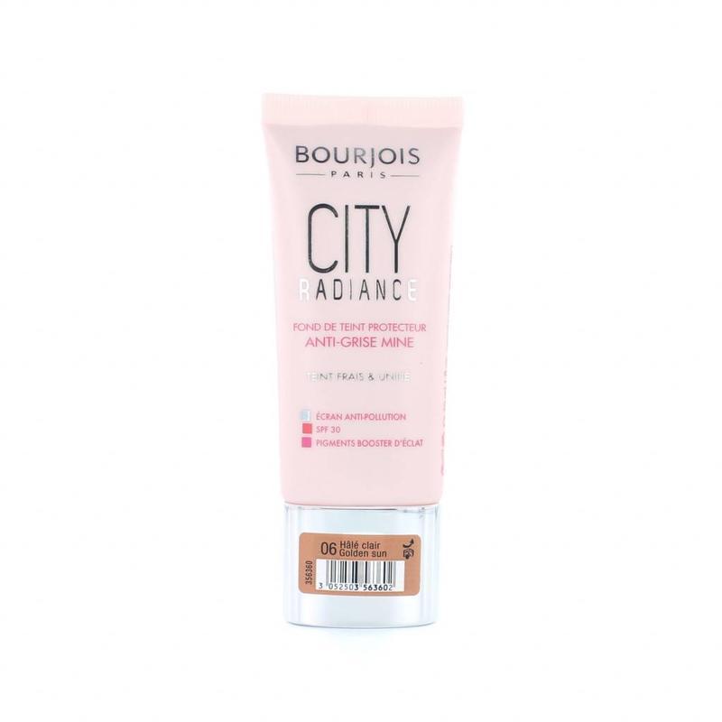 Bourjois City Radiance Skin Protecting Foundation - 06 Golden Sun