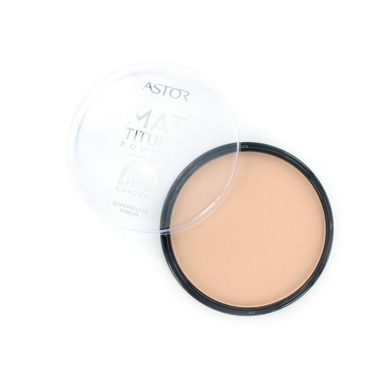 Astor Mattitude Supermatte Powder - 003 Nude Beige