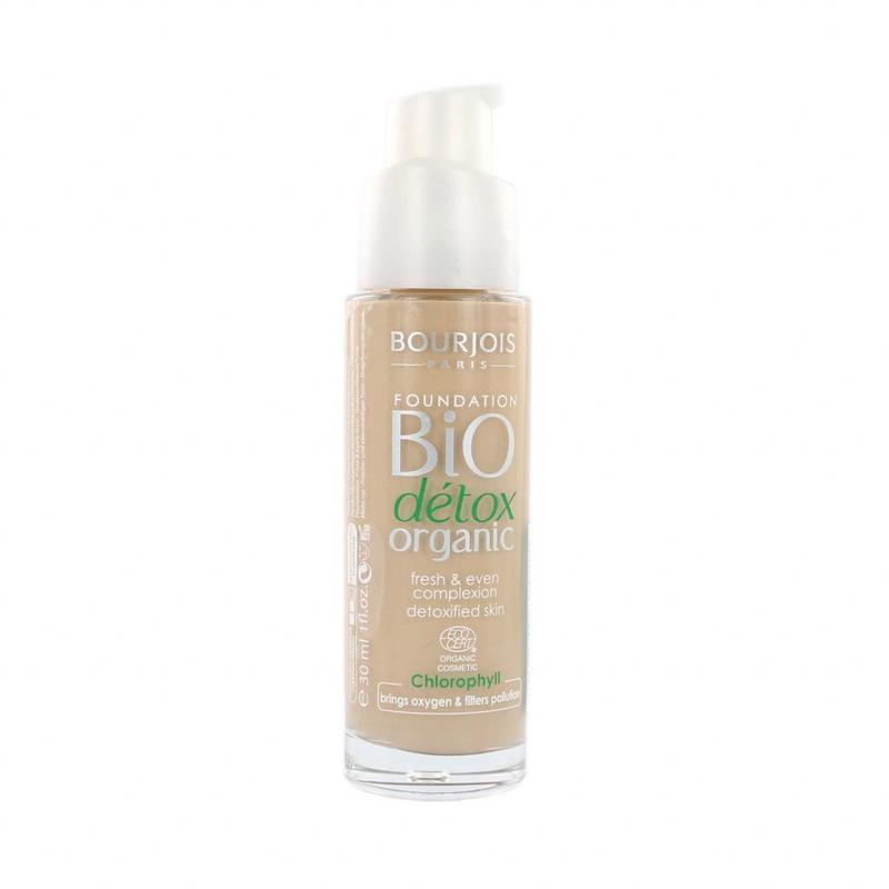 Bourjois Bio Détox Organic Foundation - 52 Vanilla
