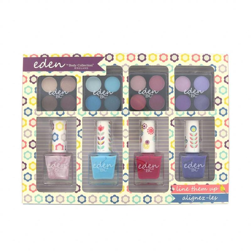 Body Collection Lidschatten en Nagellak Set