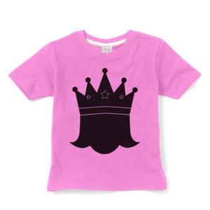 Little Mashers Roze krijt T-shirt met prinses