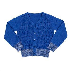 Lily Balou Lily Balou - knit cardigan 'nette' (dazzling blue)