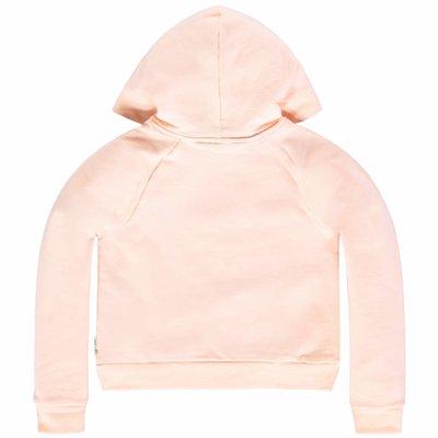 Tumble 'n dry Zalmroze korte sweater 'j'aime'