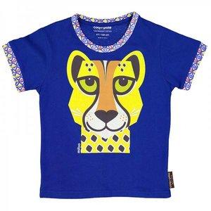 Coq en pâte Coq en pâte -  blauwe T-shirt cheetah