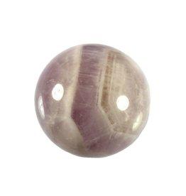 Amazez (amethyst met azeztuliet) edelsteen bol 39,5 mm