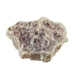 Lepidoliet schijfje ruw 5 - 15 gram