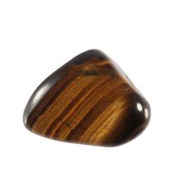 Tijgeroog steen getrommeld 10 - 15 gram