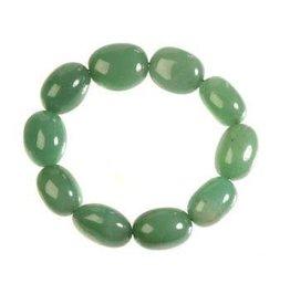 Aventurijn (groen) armband nuggets