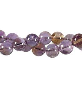 Ametrien kralen rond 12 mm (snoer van 40 cm)