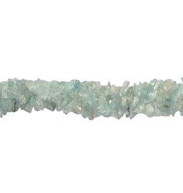 Aquamarijn splitsnoer 90 cm