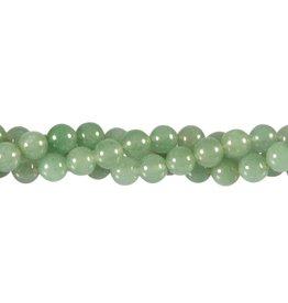 Aventurijn (groen) kralen rond 8 mm (snoer van 40 cm)