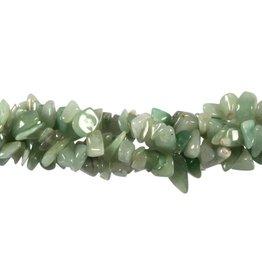 Aventurijn (groen) splitsnoer 90 cm