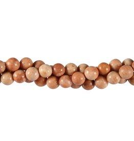 Bariet kralen rond 8 mm (snoer van 40 cm)