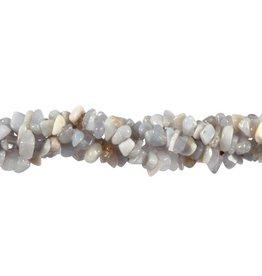 Chalcedoon splitsnoer 90 cm