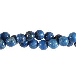 Lapis lazuli (denim) kralen rond 10 mm (snoer van 40 cm)