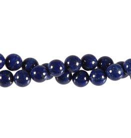 Lapis lazuli kralen A-kwaliteit rond 10 mm (snoer van 40 cm)
