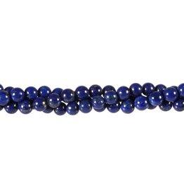 Lapis lazuli kralen A-kwaliteit rond 6 mm (snoer van 40 cm)