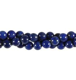 Lapis lazuli kralen A-kwaliteit rond 8 mm (snoer van 40 cm)