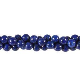 Lapis lazuli kralen rond 8 mm (snoer van 40 cm)