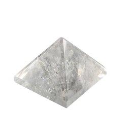Bergkristal edelsteen piramide 3,5 - 4 cm