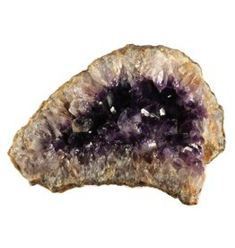 Amethist geode 20 x 15 x 1 cm / 2120 gram