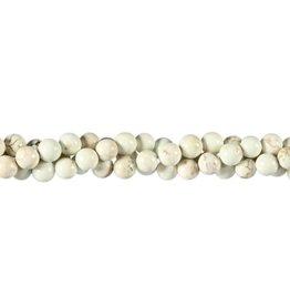 Magnesiet kralen rond 6 mm (snoer van 40 cm)