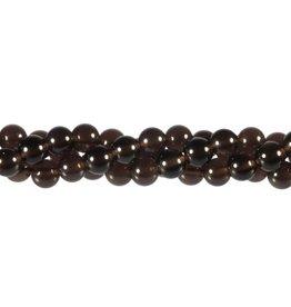 Obsidiaan (apachetranen) kralen rond 8 mm (snoer van 40 cm)