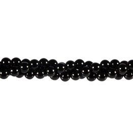 Onyx kralen rond 6 mm (snoer van 40 cm)