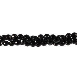Onyx kralen rond facet 6 mm (snoer van 40 cm)