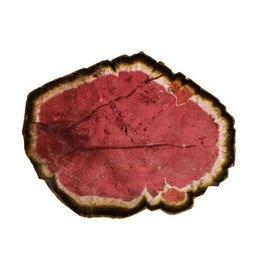 Toermalijn (watermeloen) schijfje 5 x 4 cm