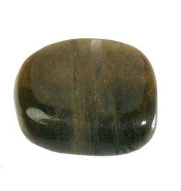 Toermalijn (groen) steen getrommeld 5 - 10 gram