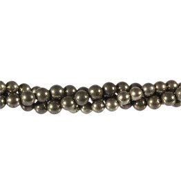 Pyriet kralen rond 10 mm (snoer van 40 cm)