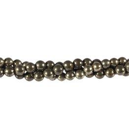 Pyriet kralen rond 6 mm (snoer van 40 cm)