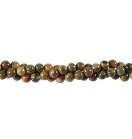 Rhyoliet kralen rond 6 mm (snoer van 40 cm)