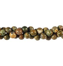 Rhyoliet kralen rond 8 mm (snoer van 40 cm)