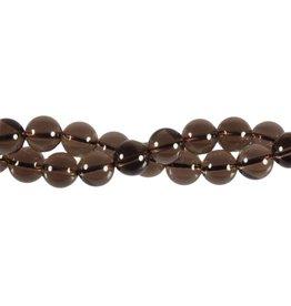 Rookkwarts kralen rond 10 mm (streng van 40 cm)