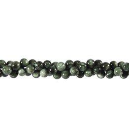 Serafiniet kralen rond 6 mm (streng van 40 cm)