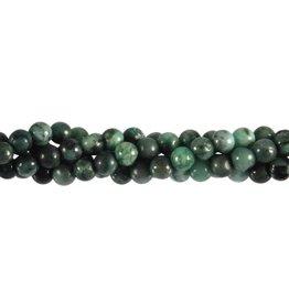 Smaragd kralen rond 5 mm (snoer van 35 cm)